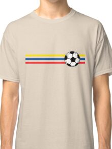 Football Stripes Ecuador Classic T-Shirt