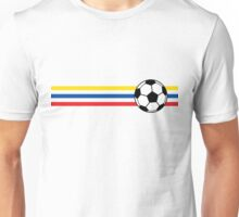 Football Stripes Ecuador Unisex T-Shirt
