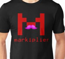 Markiplier Logo With Pink Mustache! Unisex T-Shirt