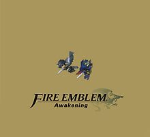 Fire Emblem Awakening Chrom/Lucina Royal Gold by AMPEE