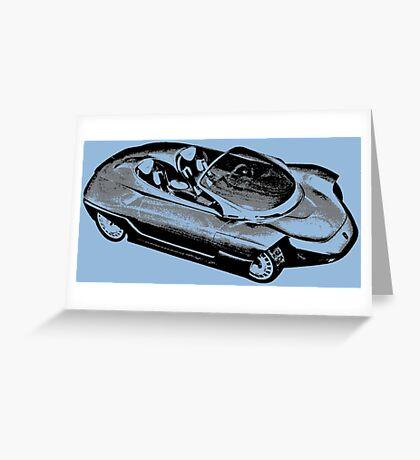 CONCEPT CAR Greeting Card