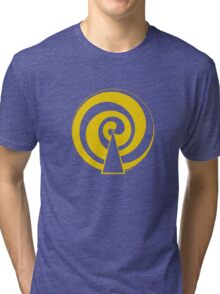 Mandala 9 Yellow Fever  Tri-blend T-Shirt