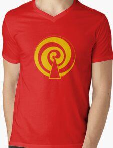Mandala 9 Yellow Fever  Mens V-Neck T-Shirt
