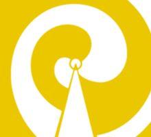 Mandala 9 Yellow Fever  Sticker