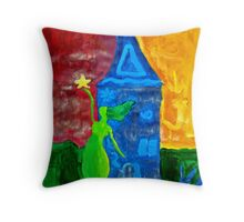 Abstract Art - Hannah B Throw Pillow