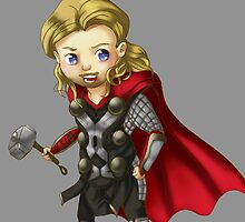 Thor : The Chibi World by InelegantFawn