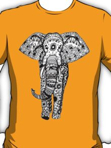 Elephant Tribal Zentangle T-Shirt