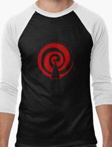 Mandala 9 Colour Me Red Men's Baseball ¾ T-Shirt