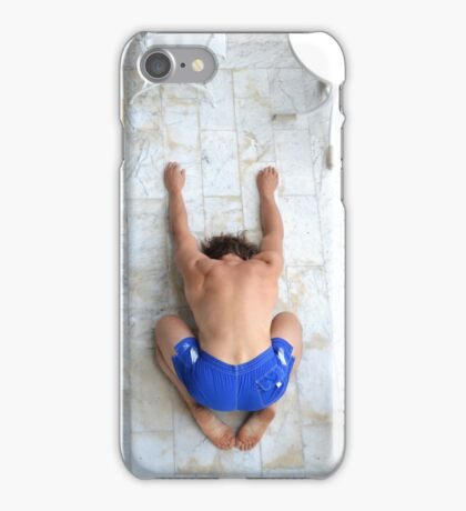 Yoga:  Downward Facing Dog iPhone Case/Skin