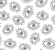 Eyes pattern by nabateriezwykle