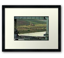 Framed by the Railroad Co. Framed Print