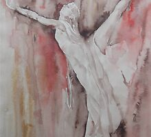 The Balance - Ballet Painting - Dance Art Gallery by Ballet Dance-Artist