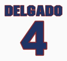 National baseball player Wilson Delgado jersey 4 by imsport