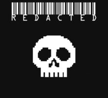 Barcode WHITE TYPE by REDACTED