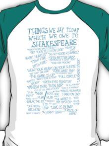 Things We Say... T-Shirt