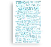 Things We Say... Metal Print