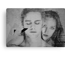 Feeling Torn Canvas Print