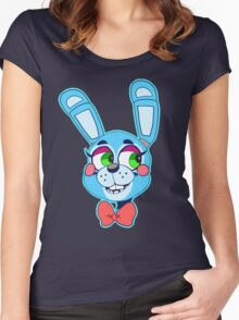 Toy Bonnie(FNAF) Women's Fitted Scoop T-Shirt