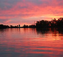 Fiery Sunset. Renmark. S.A by patapping