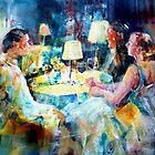 Meeting Friends - Art Gallery 48 by Ballet Dance-Artist