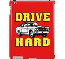 MUSCLE CAR-DRIVE HARD iPad Case/Skin
