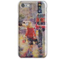Lively London - London Art Gallery iPhone Case/Skin