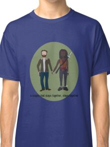 A Couple That Slays Together (Richonne) Classic T-Shirt