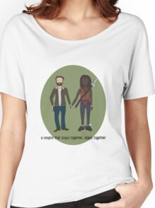 A Couple That Slays Together (Richonne) Women's Relaxed Fit T-Shirt