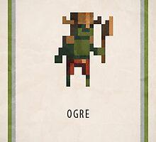 Pixel RPG - Ogre by Andrew Choo