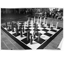 Giant Chess Poster
