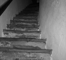 Old Staircase by Drodbar