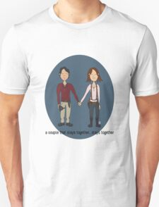 A Couple That Slays Together (Gleggie) T-Shirt