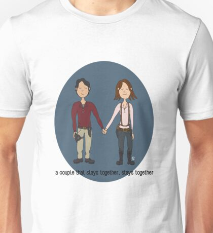 A Couple That Slays Together (Gleggie) Unisex T-Shirt