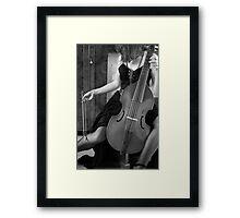 Gamba Danza Framed Print
