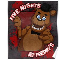 Freddy Fazbear Poster