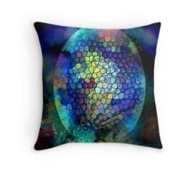 Coloured Egg Throw Pillow