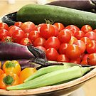 my garden produce by ANNABEL   S. ALENTON