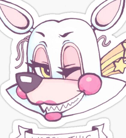 MANGLE - WRECK THIS Sticker