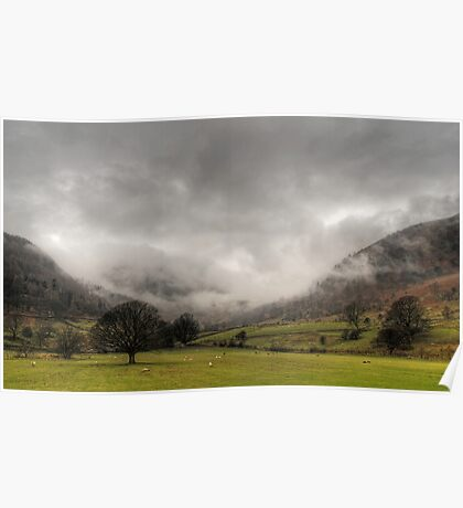 Low Clouds Poster