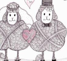 Marry Ewe Sticker
