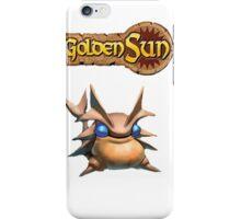 Golden Sun Djinn/logo iPhone Case/Skin
