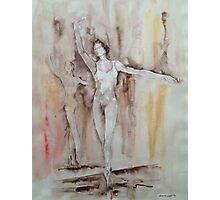 En Pointe – Ballet Painting Photographic Print