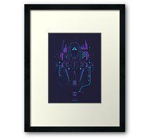 Optimus Prime Profile Framed Print