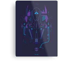 Optimus Prime Profile Metal Print