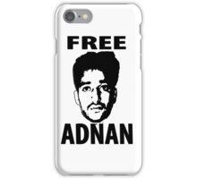 Free Adnan iPhone Case/Skin