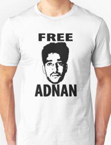 Free Adnan Unisex T-Shirt