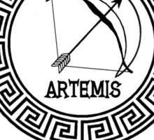 Percy Jackson - Camp Half-Blood - Cabin Eight - Artemis Sticker