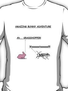 AMAZING BUNNY ADVENTURE!!! T-Shirt