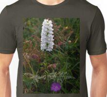 Irish White Orchid, Inishmore Unisex T-Shirt