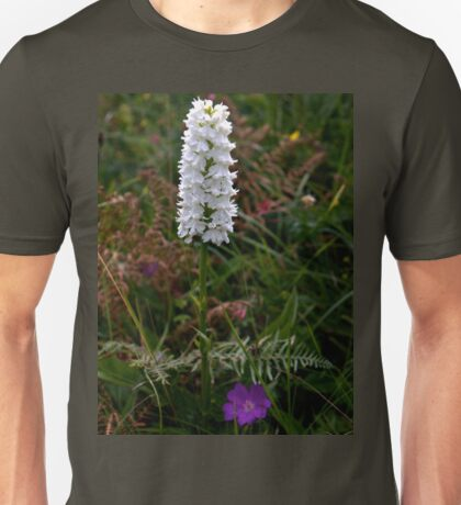 Irish White Orchid, Inishmore T-Shirt